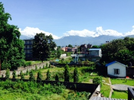 A lovely day in Pokhara