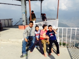 A day trip with Lila to Sarangkot